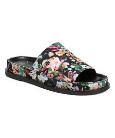ec1afeabf848 Women s Sarto by Franco Sarto Tal Slide - Multi Fabric Sandals. Danielle  Henshaw · Fancy Footwork