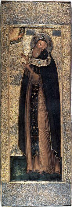 Михаил Малеин. Икона в окладе. Москва, 1630-е - сер. 1640-х
