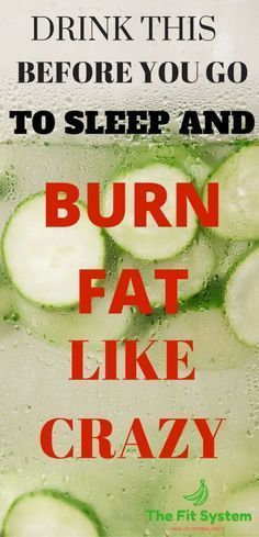 Drinking This Before Going to Bed Burns Belly Fat Like Crazy