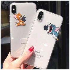 Girly Phone Cases, Funny Phone Cases, Disney Phone Cases, Art Phone Cases, Diy Phone Case, Phone Covers, Iphone Cases, Tom Y Jerry, Aesthetic Phone Case