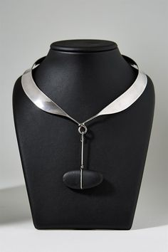 Necklace, designed by Torun Bülow-Hübe for Georg Jensen, Denmark. 1960's.