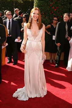 Marcia Cross, The Emmys, Red Carpet Gowns, Get Skinny, Celebs, Celebrities, Height And Weight, Celebrity Pictures, Georges Chakra