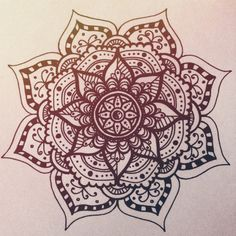 mandala tattoo - Поиск в Google