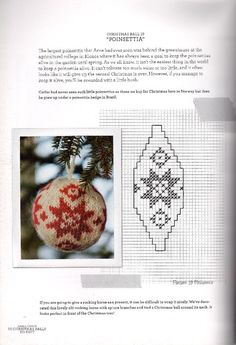 55 Christmas Balls to Knit . Knitted Christmas Decorations, Knit Christmas Ornaments, Beaded Ornaments, Christmas Knitting, Christmas Holidays, Christmas Crafts, Xmas, Plastic Canvas Ornaments, Simple Cross Stitch