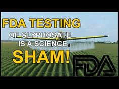 Why the FDA's announcement of glyphosate testing is a total science SHAM - NaturalNews.com