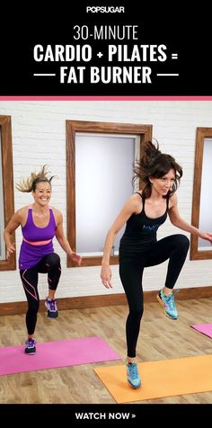 30 Minute Cardio Pilates Burner - Fit Stacks