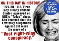 """PP: """"Hillary Clinton/Habitual Liar"""" Actually, many GOP leaders and their financial backers admitted that Whitewater was just a scheme against the Clintons. Hmmm, a lot of people hatching a plot for political reasons,... what would you call that?"""