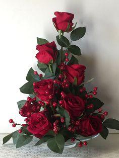 Fantastic Ideas For Red Floral Arrangement (67)