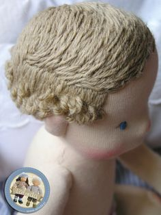 Embroidered hair by Lalinda.pl