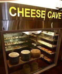 Tony Caputo's Market, SLC - apparently cheese tasting is encouraged!