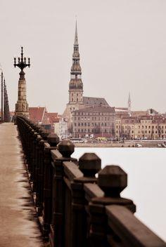 View of Riga, Latvia