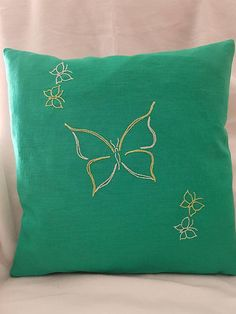 Deko Throw Pillows, Environment, Unique Gifts, Special Gifts, Decorative Pillow Covers, Linen Fabric, Threading, Cushions, Decorative Pillows
