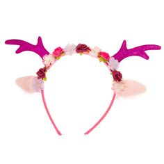 Kids Glitter Antlers Headband, all, Christmas Shop, Headbands, Kids, Accessories, Hair, Kids Dress Up, Dress Up & Fancy Dress , Novelty, Christmas Dress Up Fashion trends, accessories and jewellery for young women