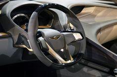 Гладкий взгляд в будущее Hyundai HCD-14 Genesis Concept