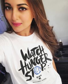 Watch hunger stop with @michaelkors and me! 25 meals will be donated to the world food program for children in need for every pi