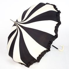 Black and White Pagoda Umbrella by Bella Umbrella > http://shop.bellaumbrella.com/p-702-bella-umbrella-pagoda-black-white-pinwheel-pagoda-umbrellas.aspx