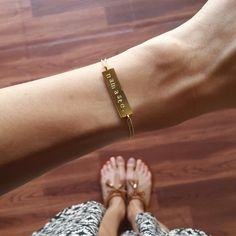 Namasté delicate bracelet by ATELIER Gaby Marcos
