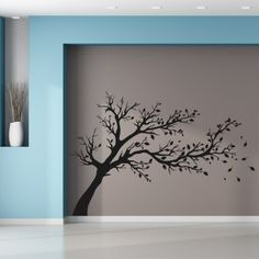 Stickers arbre Wall Painting Decor, House Painting, Wall Art Designs, Paint Designs, Photo Deco, Deco Design, Tree Wall, Decoration, Canvas Wall Art