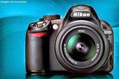 Compre já a sua Câmera Nikon SLR D3100 com 14,2 Mpx (opção com cartão de memória de 16 ou 32 GB), a partir de 12x sem juros de R$ 133,32 + frete grátis.