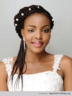 Natural Black Wedding Hairstyles, African Wedding Hairstyles, African American Wedding Hairstyles