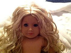 All Things With Purpose: {DIY} Fixing Your American Girl Doll's Hair without a Trip to the Doll Hospital