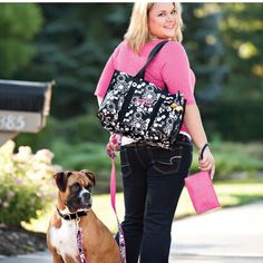 Want to coordinate your bag with your favorite furry baby? Now you can! New Thirty One Spring Line debuting Jan 2013 https://www.mythirtyone.com/christycook31