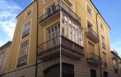 Edificio antiguo rehabilitado. Rehabilitación de Fachada en Calle Cordeta 4, Alicante