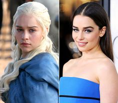 Game of Thrones Cast: What They Look Like Off-Screen!: Emilia Clarke