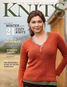 Interweave knits 2014 winter