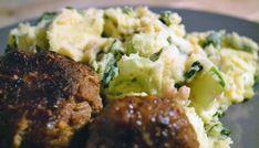 Paksoi stamppot met ketjap gehaktballetjes - Eerlijker Eten