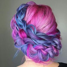 Stunning work @alexcrabtreehairandmakeup !!! SHOW SOME UNICORN LOVE AND GIVE HER A FOLLOW!  #btconeshot_creativecolor16 #btconeshot_rainbow16 #btconeshot_hairpaint16 #behindthechair #modernsalon #americansalon #bangstyle #beautylaunchpad #hairinspiration #haircolor #rainbowhair #galaxyhair #unicorntribe #unicornhair #mylittleponyhair #vogue #elle #cosmopolitan #cosmoprof #licensedtocreate #buzzcutfeed #popsugar #hairstyles #unicorns #haircolorideas #highlights #haircut #hair #alternativehair...