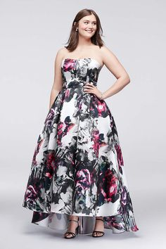 297a387c301 Find plus size prom dresses at David s Bridal! Our collection includes plus  size prom dresses