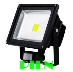 50W pir motion sensor flood light outdoor waterproof induction led lamp human detector white 100V-240V 12V CE&ROHS by DHL 20pcs #Affiliate