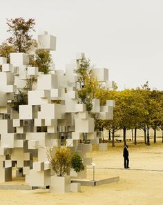 outdoor cubes Paris