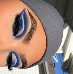 Mar 2020 - Browse the top-ranked list of Colorful Makeup. See more ideas about Makeup, Colorful makeup and Makeup inspiration. Makeup Eye Looks, Eye Makeup Art, Colorful Eye Makeup, Cute Makeup, Gorgeous Makeup, Pretty Makeup, Skin Makeup, Makeup Inspo, Eyeshadow Makeup