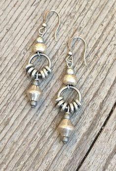 Silver drop earrings, ethnic earrings, tribal jewelry, silver jewelry Source by Tribal Jewelry, Bohemian Jewelry, Metal Jewelry, Silver Jewelry, Silver Ring, Silver Necklaces, Long Necklaces, Silver Beads, Gold Jewellery
