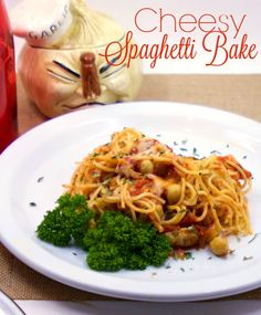 Cheesy Spaghetti Bak