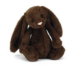 The Jellycat Bashful Bunny is the softest and most adorable plush baby toy. He has lushious, fluffy, soft ears and an adorable felt nose. Bashful Bunny is delightful to give and precious to hold...for a long long time.27