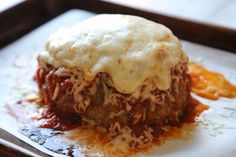 GIANT MEATBALL-- use mozzarella next time! Skipped tomato paste and it was fine. Used 2 pieces Dave's killer bread left in counter overnight then chopped. Best Gluten Free Recipes, Great Recipes, Favorite Recipes, Healthy Recipes, Ground Turkey Sausage, Ground Beef, Italian Turkey Meatballs, Healthy Weeknight Meals, Easy Meals