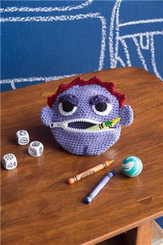 Who doesn't need a crochet monster coin purse? I can't think of anyone. Big Mouth Coin Purse - Media - Crochet Me