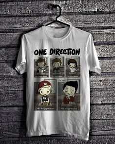 One Direction Series  1D Cartoon All Members by Ocean7Clothing, $18.99