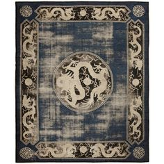 Ningsia Rug Antique Chinese Carpet by Nazmiyal (about $3,000).