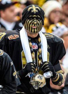 New Orleans Saints fan : NFL's craziest fans