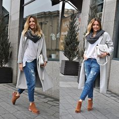 #fashion  ##women's  #outfit's   #style  #winter  #autumn  #elegant  #street #Daniel Wellington Watch, Sheinside Coat, Lovelyshoes Blouse, Lovelyshoes Suede Leather Boots