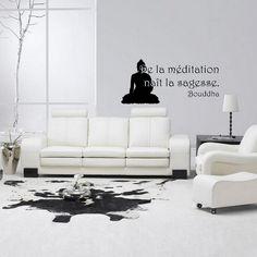 """""""De la méditation naiît la sagesse""""  Dispo sur: www.artandstick.be/custom.php5?ref=3939352c3330"""