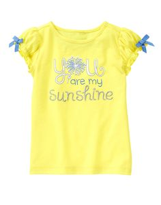 You Are My Sunshine Tee at Gymboree Collection Name: Pocketful of Sunshine (2015) Size 5T