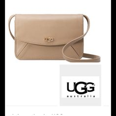 Ugg Rae crean crossbody leather bag oduct Description Soft pebbled leather on an iconic style makes this crossbody an investment in timeless accessorizing. This petite and sleek silhouette is perfect for day or night and perfectly sized to hold your cell phone, keys, and cards. Features six credit card slots and an interior zip pocket. Comes With dust bag and authenticity card UGG Bags Crossbody Bags Pebbled Leather, Leather Bag, Fashion Tips, Fashion Design, Fashion Trends, Authenticity, Designer Handbags, Saddle Bags, Style Icons