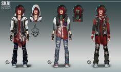 Skai Costume Design by orochi-spawn on DeviantArt