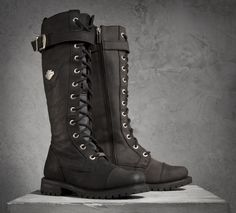 Complete your look from head to toe. | Harley-Davidson Savannah Performance Boots