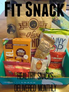 Your Healthy Year | Fit Snack – A healthy snack box delivered monthly.